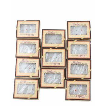 144 Ringe, 12 Verpackungen Set, nickelfrei