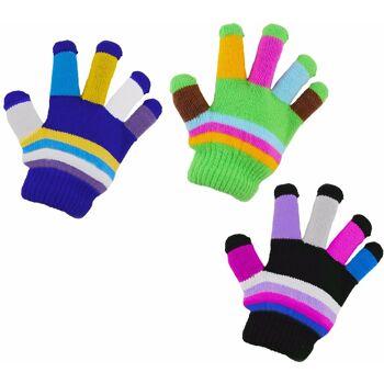 Kinder Strickhandschuh