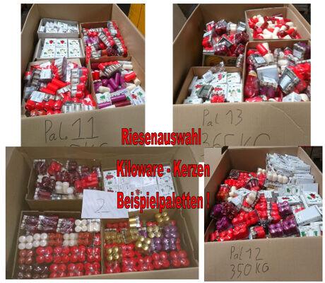 12-5000, Kerzen zum Kilopreis, TOP AUSWAHL, Preishammer, ALLES NEUWARE