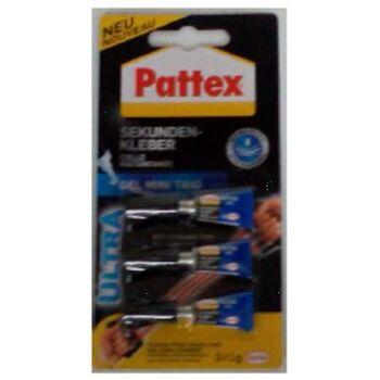 12-1873042, Pattex Sekundenkleber 3er Set (3x1g)