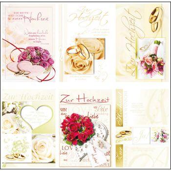 28-018306, Geschenkkarten Hochzeit, Glückwunschkarten