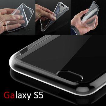 Samsung S5 / Clear TPU Silikon Case / Transparent