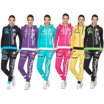 Damen Jogging Anzug Sportanzug Trainingsanzug Trainingsjacke Jogginganzug - 15,90 Euro<br>