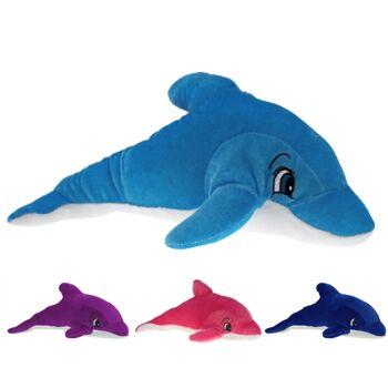 10-102110, Plüsch Delfin 16 cm, Plüschdelfin, Delphin, Meeresstier, Wildtier, Wassertier, Kuscheltier
