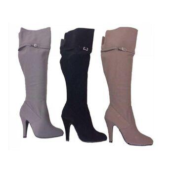 Damen Stiefel Overknee Schuhe Shoes Schuh Trend - 18,90 EUR