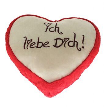 10-124360, Riesen Plüsch Herz 100 cm
