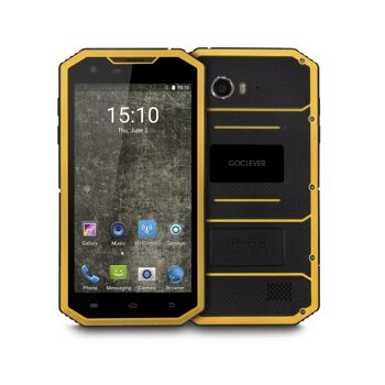 GoClever QUANTUM 5 500 RUGGED Outdoor Smartphone Handy IP68 5 Zoll QuadCore Dual-Sim LTE