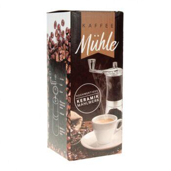 10-692210, Handkaffeemühle mit Keramikmahlwerk