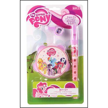 28-298107, Disney Musikset 3-teilig, Frozen, Cars, My little Pony, PAW Patrol, Spielset, ideal für unterwegs, Reise, Urlaub, usw