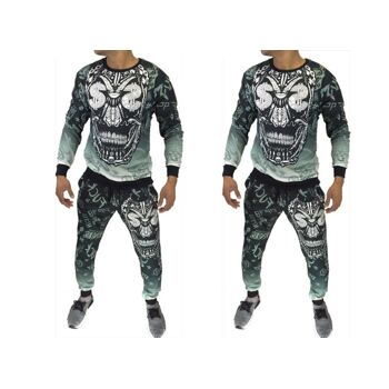 Herren Jogging Anzug Sportanzug Trainingsanzug Trainingsjacke Jogginganzug - 14,90 Euro