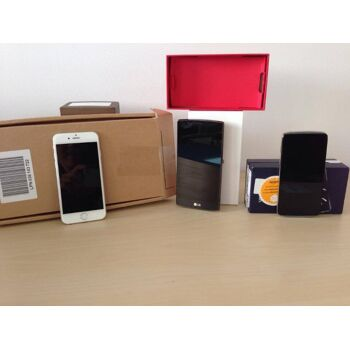Handys Mischkartons Markenprodukte: Apple, Samsung, LG, HTC, Blackberry, Nokia, Sony, Motorola, Alcatel, Huawei, Asus u.v.a.