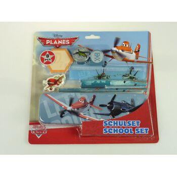 12-13645, Schulset Disney Planes, 8-teilig