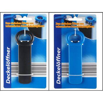 28-026408, Dosenöffner für Schraubdeckel, zum einfachen öffnen von Schraubdeckelgläsern