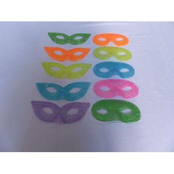 21-9028, Partymaske mit Glitter, Disco, Kostüm, Party, Karneval, Fasching, Event, Geburtstag, usw