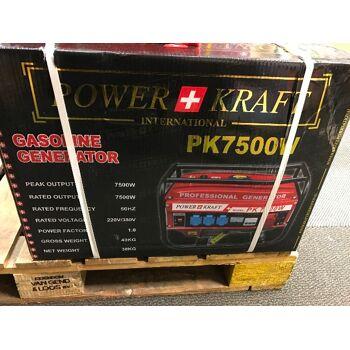 POWERKRAFT  STROMERZEUGER BENZIN NEU OVP 4-Takt 6500 Watt Benzin Stromerzeuger Generator Stromgenerator Notstromaggregat