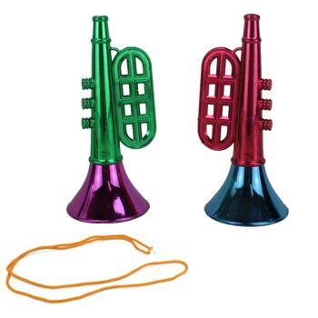 27-62133, Trompete metallic mit Band