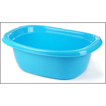 28-366733, Wäschewanne oval, 12 Liter, 48 x 34,5 x 16 cm, Wäschekorb