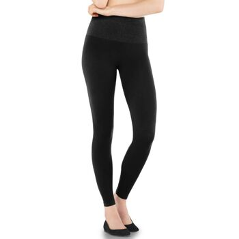 Yenita® figurformende Slim-Leggings in schwarz