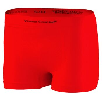 Vincent Creation® seamless Mikrofaser Herren Pant in rot