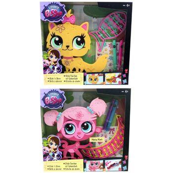 27-50996, HASBRO Littlest Pet Shop Style-Tierchen, mit viel Zubehör zum Verzieren des Tieres