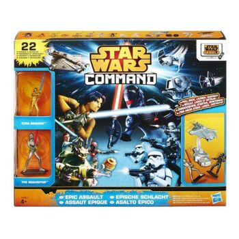 27-51780, HASBRO Star Wars Command Epic Assault Pack 22 Teile