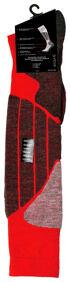 Unisex Wintersport-Kniestrümpfe aus Schurwolle mit Protektoren