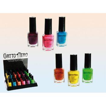 12-362042, Nagellack Gatto Nero Neon Colours