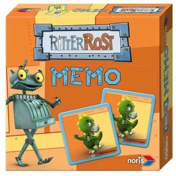 27-45031, Noris Ritter Rost Memoryspiel, Gesellschaftsspiel, Legespiel