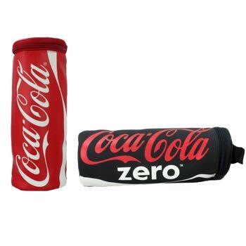27-46112, COKE AMERICANA Coca Cola Schlamperrolle Stifttasche, Stiftetasche