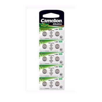 Camelion Alkaline Knopfzellen (1,5V) 10er Blister AG9