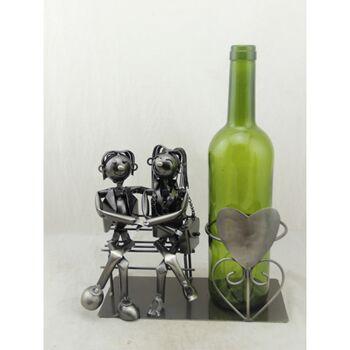 17-72094, Metall Weinflaschenhalter