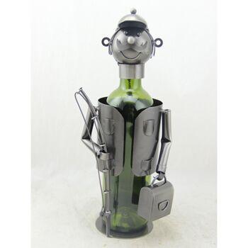 17-72108, Metall Weinflaschenhalter