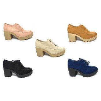 Damen Halbschuh Freizeit Schuhe Halbschuhe Schuh Absatz - 12,90 Euro