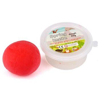 28-770041, Springknete 20 g, in Dose, Springball, Flummiball, Hüpfball, Hüpfknete