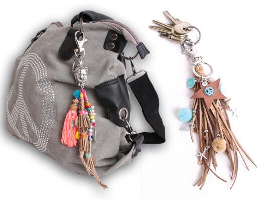 Trendige Accessoires Taschenanhänger Schlüsselanhänger Hippie Buddha Style - 6,90 Euro