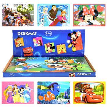28-326199, Platzdeckchen Disney 43 x 30cm, Platzhalter, Platzdecke, Platzmatten auch als Bastelunterlage nutzbar