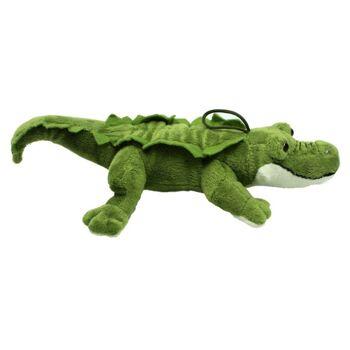 27-26503, Plüsch Krokodil 35 cm, Plüschkrokodil, Kuscheltier, Wildtier, Waldtier, Meerestier, Flusstier