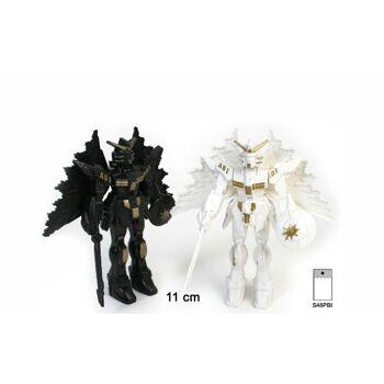 27-41378, Roboter  11 cm, bewegliche Arme und Flügel