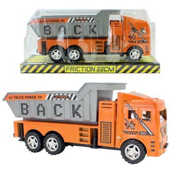 27-45414, Baufahrzeug mit Antieb, LKW Kipper, Baustelle