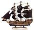Deko XL Segelschiffe aus Holz, 40cm Länge, verschiedene Modelle