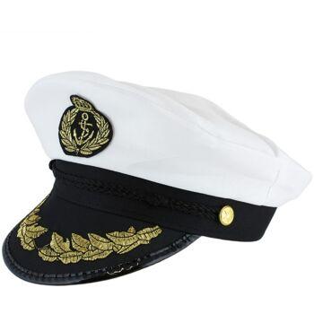 Kapitänshut für Partys und Kostüme, Onesize