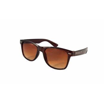 Sonnenbrille Einfarbig Transparent Partybrille Spaß Fasching
