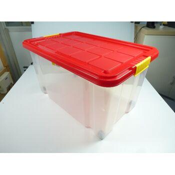 Eurobox gross 60x40x33cm 55Liter, mit Deckel, stapelbar, drehstapelbar, TOP Qualität