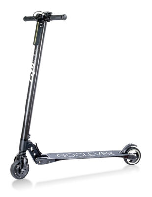 GoClever Carbon City Rider Roller Elektro Fahrzeug Scooter