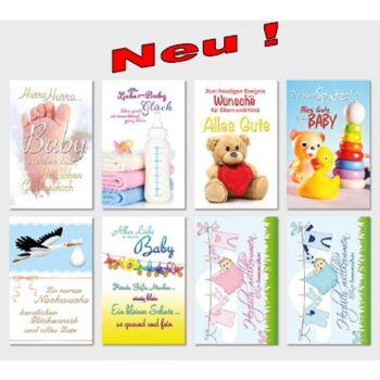 12-993748, Glückwunschkarten Baby Freudiges Ereignis Geschenkkarten, Glückwunschkarten, Geschenkkarte
