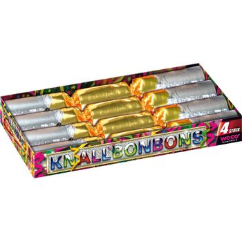 Knallbonbon 4er Box f Silvester + Geburtstag Party