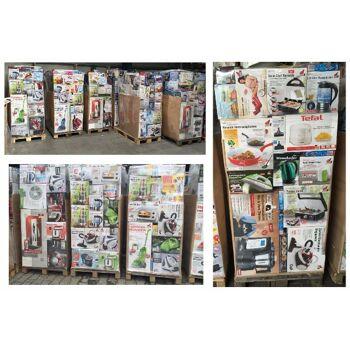 Misch Paletten mit verschiedenen Artikeln A -WARE  z.B. Kinder markenware, Deko Küchenkleingeräte,Textilien, Heimtextilien und viele weitere Artikel.