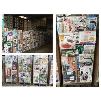 Mixpaletten Elektro-/ Haushaltsgeräte Container Ware
