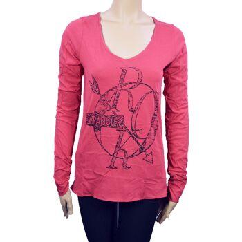 Wrangler Mix Damen T-Shirt Tops, 28071510