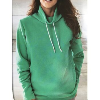 DAMEN FLEECE PULLOVER SORTENREIN IN 3 FARBEN